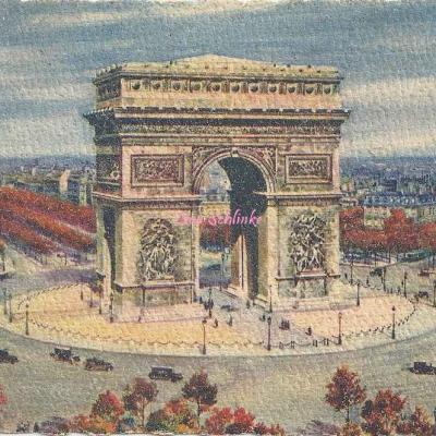 4 (S1) - L'Arc de Triomphe et la Place de l'Etoile