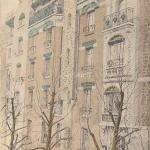 4 - Style Guimard - Le Castel Berenger, rue Lafontaine