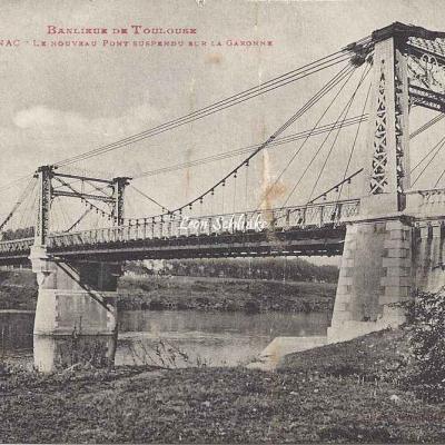 40 - Blagnac - Le nouveau Pont suspendu sur la Garonne