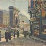 41 - La Porte Saint-Denis vue de la Rue de la Lune