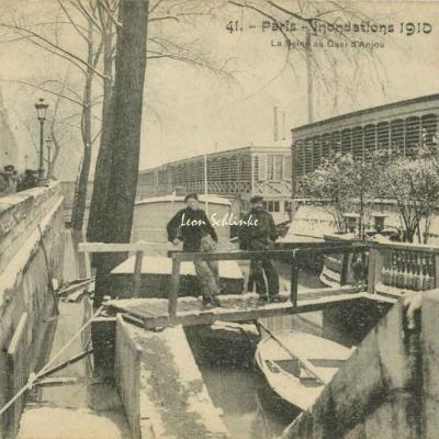 41 - La Seine au Quai d'Anjou