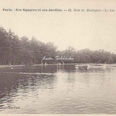 43 - Bois de Boulogne - Le Lac