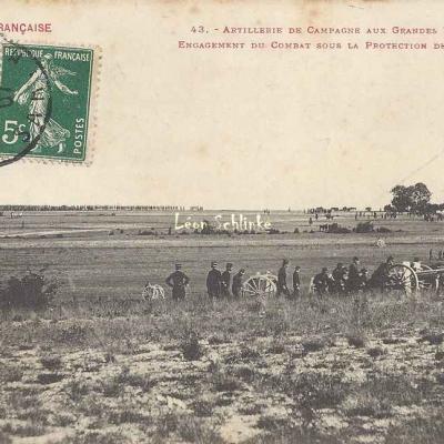 43 - Engagement du Combat sous la protection de l'Artillerie