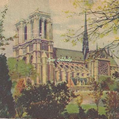 43 - Notre-Dame vue de St-Julien le Pauvre
