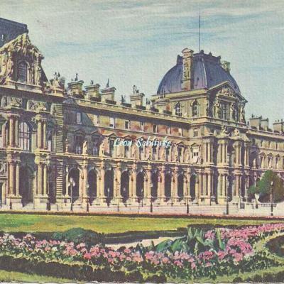 44 - Jardin des Tuileries (Pavillon de Rohan et Mt gambetta)