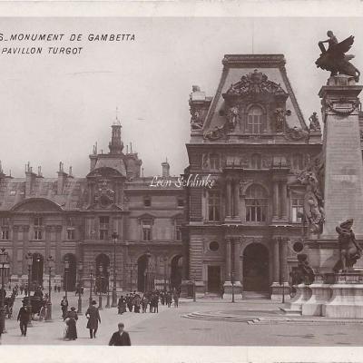 44 - Monument de Gambetta et Pavillon Turgot