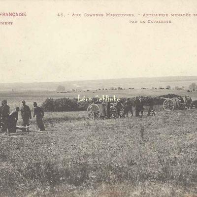 45 - Artillerie menacée sur son Flanc par la Cavalerie