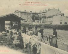 45 - Blanchisseuses au bord du Canal