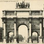 45 - PARIS - L'Arc de Triomphe du Carrousel.