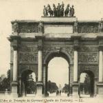 45 - PARIS - L'Arc de Triomphe du Carrousel (Jardin des Tuileries)