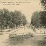 46 - Les Allées Nationales et la statue Larrey