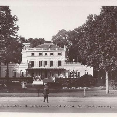 49 - Bois de Boulogne - La Villa de Longchamps