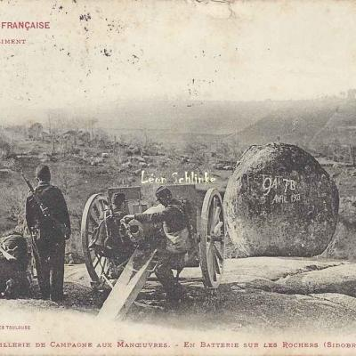 49 - En Batterie sur les Rochers (Sidobre de Castres)