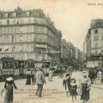 49 - Faubourg du Temple, Ancienne descente de la Courtille