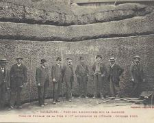 5 - Fond de fouille de la pile 3 (Octobre 1904))