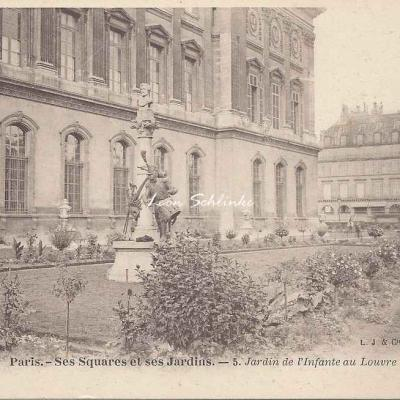 5 - Jardin de l'Infante au Louvre