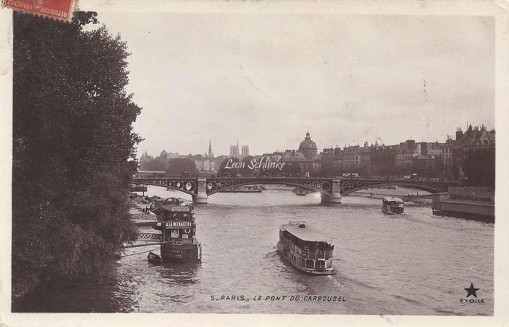 5 - Le Pont du Carrousel