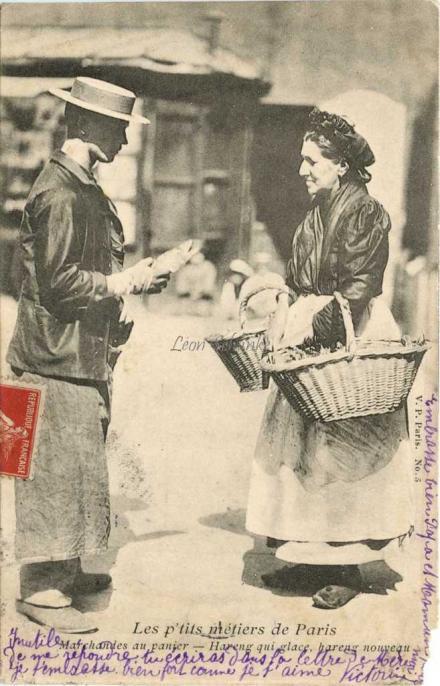 5 - Marchandes au panier - Hareng qui glace, hareng nouveau