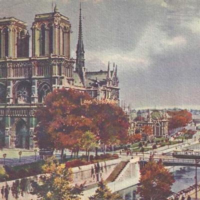 5 - Notre-Dame de Paris - Vue générale