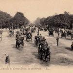 5 - PARIS - L'Avenue des Champs-Elysées, au Rond-Point