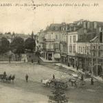 5 - Place Maubourguet (Vue prise de l'Hôtel de la Paix)