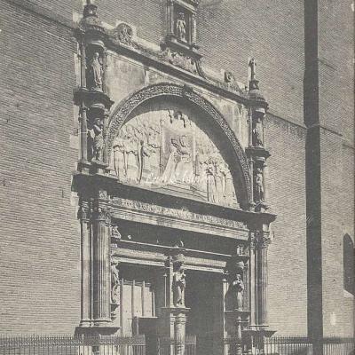 5 - Porte de l'église de la Dalbade