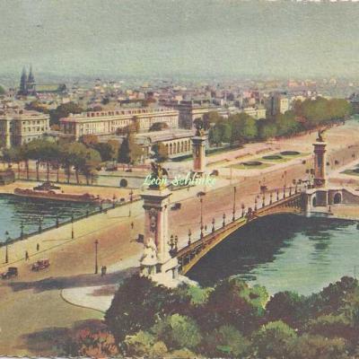 50 - Le Pont Alexandre III et l'Esplanade des Invalides