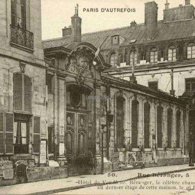 50 - Rue Béranger, 5