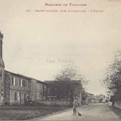 50 - Saint-Alban, près Aucamville - L'Eglise