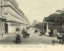 51 - PARIS - La Rue de Rivoli prise du Ministère de la Marine