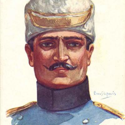 52 - Officier serbe
