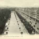 52 - PARIS - Perspective de la Rue de Rivoli