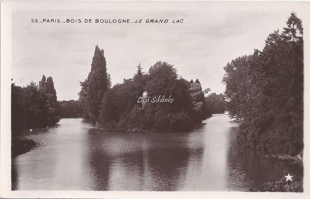 53 - Bois de Boulogne - Le Grand Lac