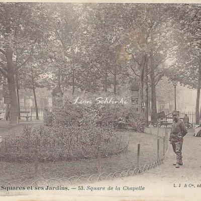 53 - Square de la Chapelle