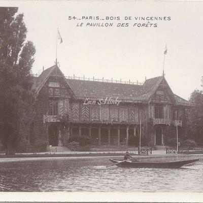 54 - Bois de Vincennes - La Pavillon des Forêts