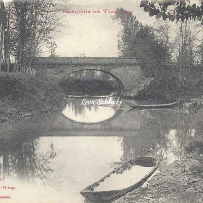 54 - Castelginest - Le Pont sur l'Hers