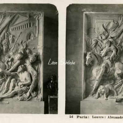 54 - Paris - Louvre - Alexandre et Diogène, de Puget