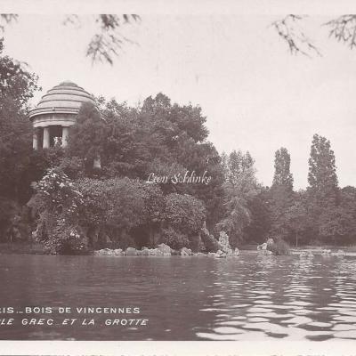 55 - Bois de Vincennes - Le Temple grec et la Grotte