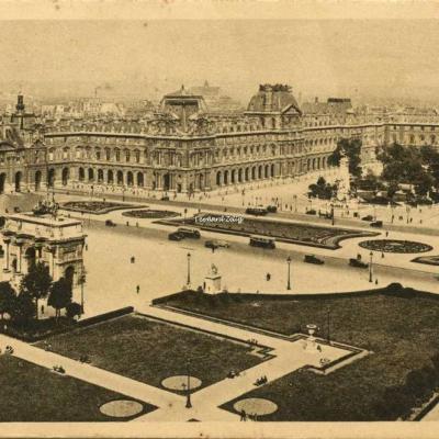 55 - Perspective sur la Place du Carrousel