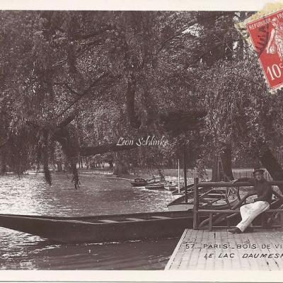 57 - Bois de Vincennes - Le Lac Daumesnil