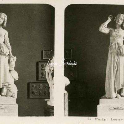 57 - Paris - Louvre - Jeanne d'Arc par Rude