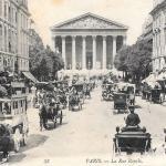 58 - PARIS - La Rue Royale (2)