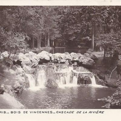 59 - Bois de Vincennes - Cascade de la Rivière