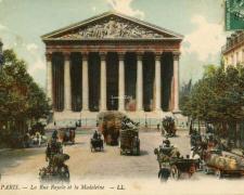 59 - PARIS - La Rue Royale et la Madeleine