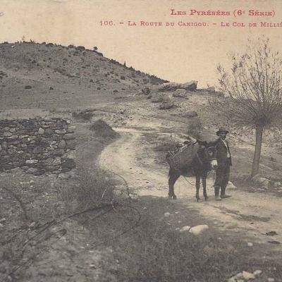 6 - 106 - La Route du Canigou, le Col de Millières près Fillols