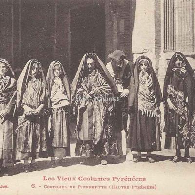6 - Costumes de Pieerefitte (Hautes-Pyrénées)