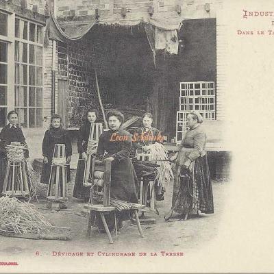 6 - Dévidage et Cylindrage de la Tresse