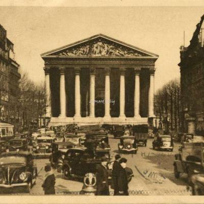 60 - Eglise de la Madeleine et rue Royale