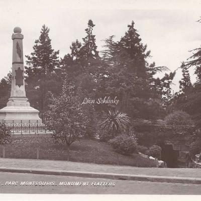 61 - Parc Montsouris - Monument Flatters