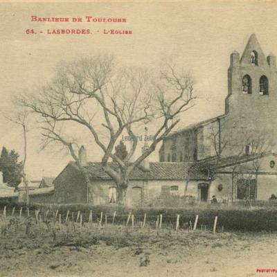 64 - LASBORDES - L'Eglise